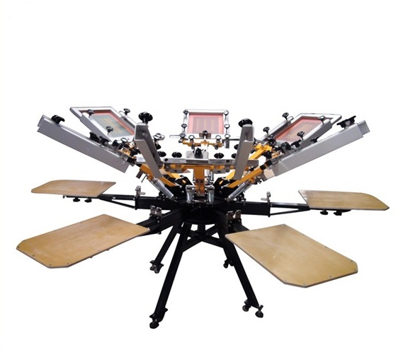 Manual screen printing machines imperial international for Imperial printing